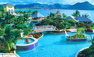 Hotel Sandals Grande St Lucia Spa Beach Resort Push Here To Enlarge The